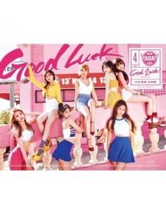 [B Version-Weekend] AOA 4th Mini Album - GOOD LUCK CD + Poster