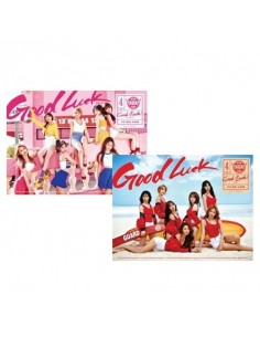[SET Week+Weekend] AOA 4th Mini Album - GOOD LUCK 2CDs + 2Posters