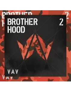 VAV 2nd Mini Album - BROTHERHOOD CD + Poster