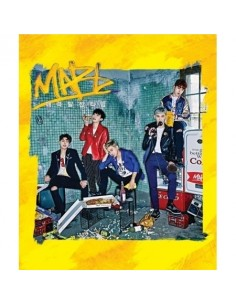 MAP6 2nd Single Album - 매력발산타임 CD + Poster