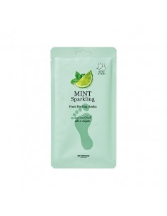 [Skin Food] Mint Sparkling Foot Peeling Socks 20g*2masks