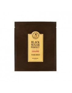 [Skin Food] Black Sugar Perfect Mask Sheet 2X Essential 21g