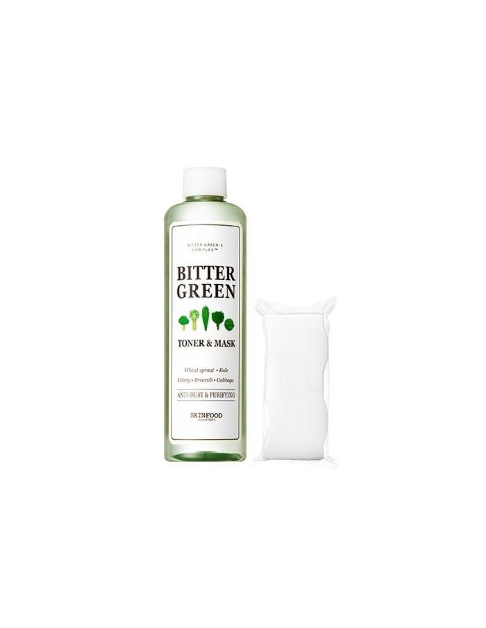 [SKIN FOOD] Bitter Green Toner & Mask 300ml