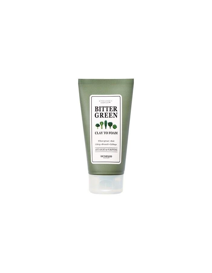 [SKIN FOOD] Bitter Green Clay to Foam 170g