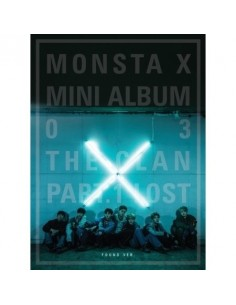 MONSTA X 3rd Mini Album - THE CLAN 2.5 PART.1 LOST (FOUND ver.) CD + POSTER
