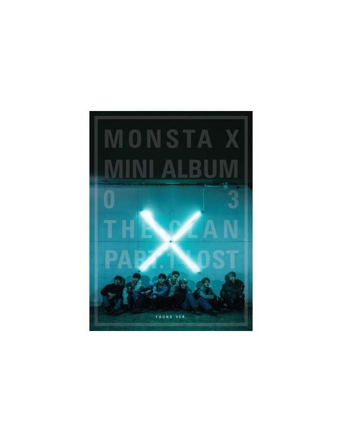 MONSTA X 3rd Mini Album - THE CLAN 2.5 PART.1 LOST (FOUND ver.) CD + POSTER
