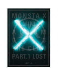 MONSTA X 3rd Mini Album - THE CLAN 2.5 PART.1 LOST (LOST ver.) CD + POSTER