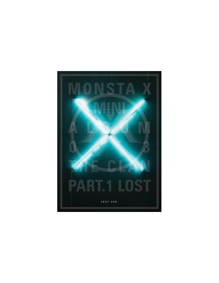 MONSTA X 3rd Mini Album - THE CLAN 2.5 PART.1 LOST (LOST ver.) CD + POSTER