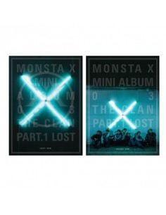 MONSTA X 3rd Mini Album - THE CLAN 2.5 PART.1 LOST (LOST ver.+Found Ver.) 2CDs  +2POSTERs