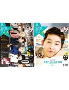 Magazine ASTA TV + Style 2016-6 Song Jong-Ki, Park Bo-Gum, BTS, MONSTA X