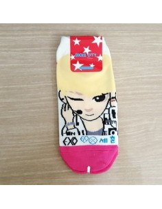 EXO-K 1 pair of  Character Socks - SEHUN Ver.2