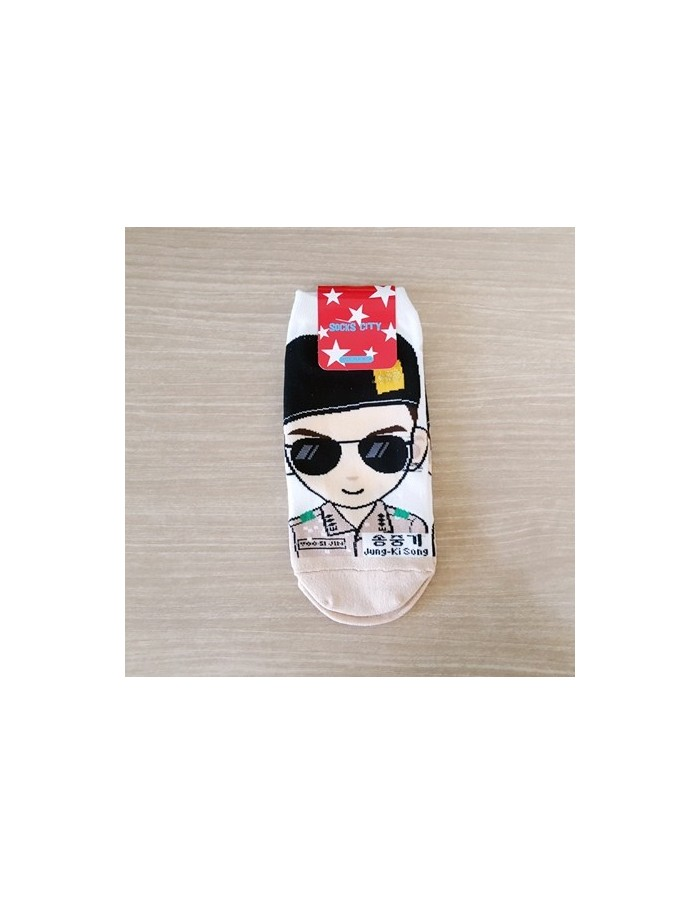 1 pair of  Character Socks - SONG JUN KI Ver.2