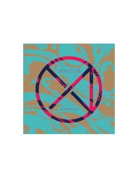 JYJ XIA 4th Album  - XIGNATURE CD +  Poster
