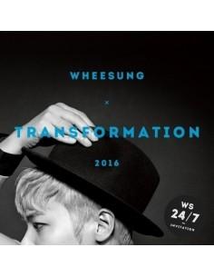 WHEESUNG 2nd Mini Album - TRANSFOMATION CD