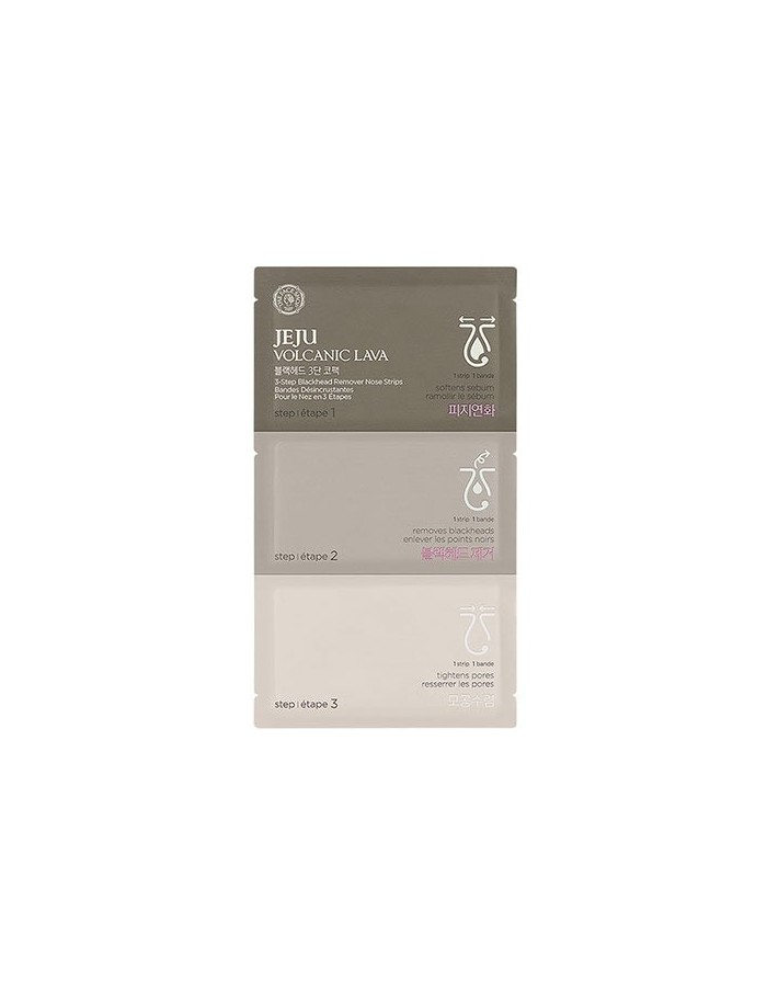 [Thefaceshop] 3-Step Blackhead Remover Nose Strips