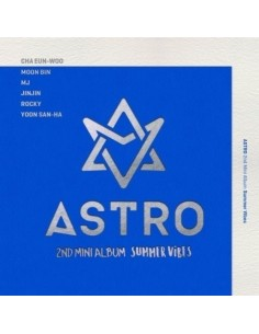 ASTRO 2nd Mini Album - SUMMER VIBES CD + Poster