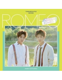 [Yunsung, Kyle Edition] ROMEO 3rd Mini Album - MIRO CD + Poster