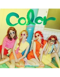 MELODYDAY 1st Mini Album - COLOR CD + Poster