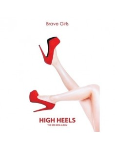 BRAVE GIRLS 3rd Mini Album - HIGH HEELS CD