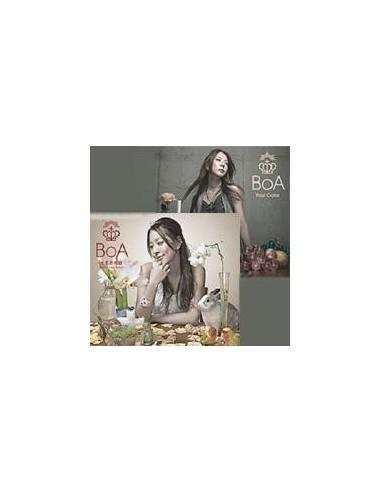 BOA  七色の明日 ~ BRAND NEW BEAT/YOUR COLOR ~ (SINGLE+DVD)