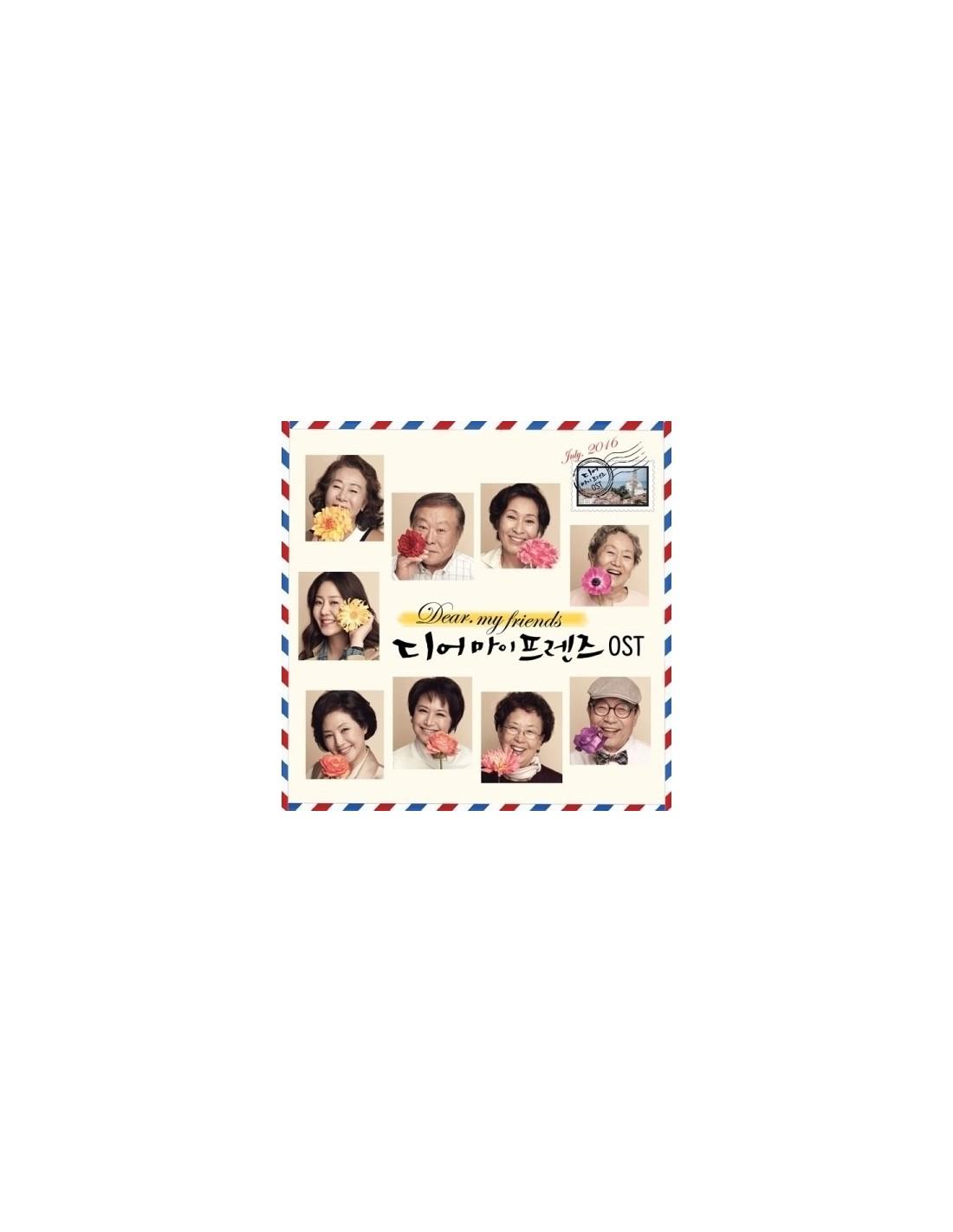 tvN Drama Dear MY Friends O S T CD