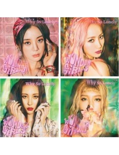 Wonder Girls Single Album - WHY SO LONELY CD + Poster