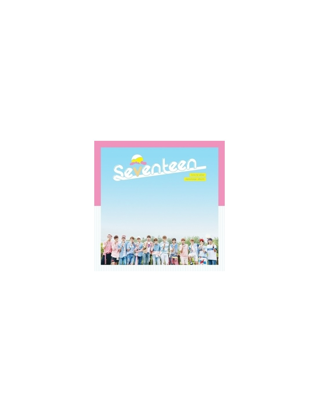 [NORMAL] SEVENTEEN 1st Album Repackage - LOVE & LETTER CD