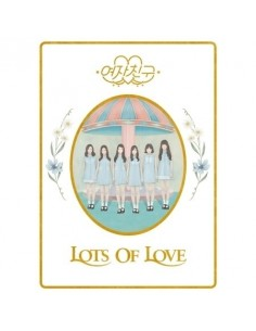[LOTS OF LOVE VER] GFRIEND 1st Album - LOL CD + Poster