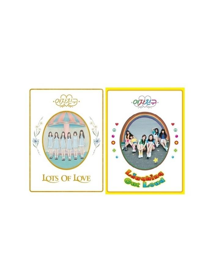 [SET] GFRIEND 1st Album - LOL 2CDS + 2Posters