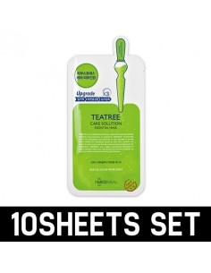 [ MEDI HEAL ] TEATREE HEALING Solution Essential Mask pack 10sheets SET
