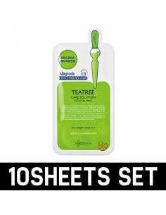 [ MEDI HEAL ] TEATREE HEALING Solution Essential Mask pack 10sheets SET
