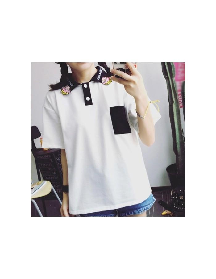 [S314] Muffin Pocket Short Sleeve T-shirt