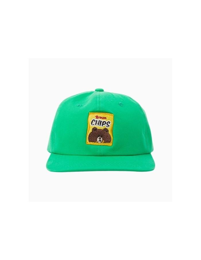 [LINE FRIENDS Goods] Deep Green Brown Chips Ball Cap