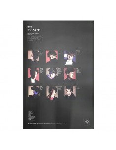 [Poster] EXO 3rd Album EX'ACT Poster Monster Version