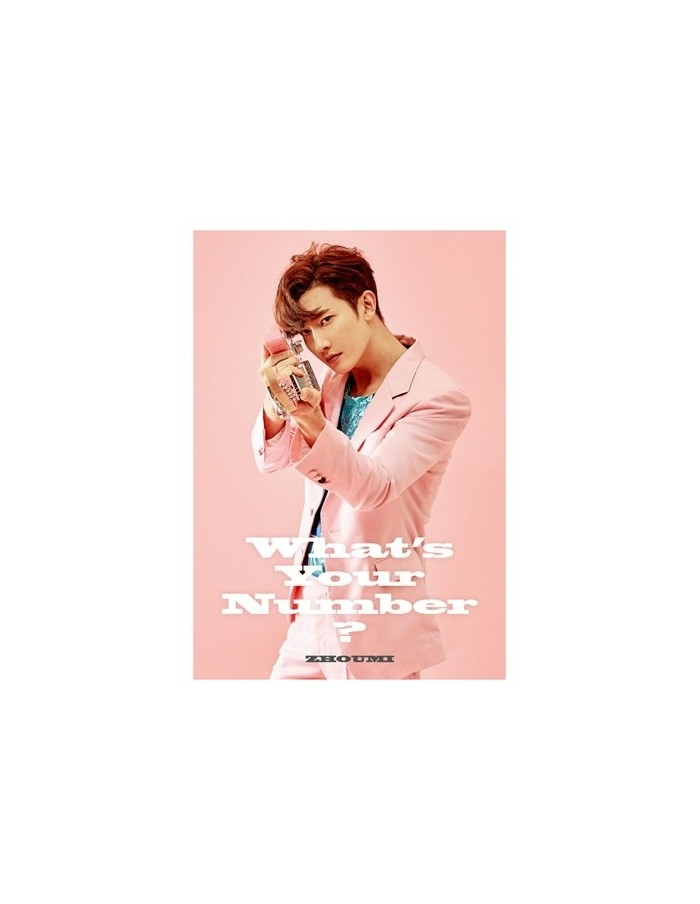 Super Junior-M ZHOUMI 2nd Mini Album - WHAT'S YOUR NUMBER? CD + Poster