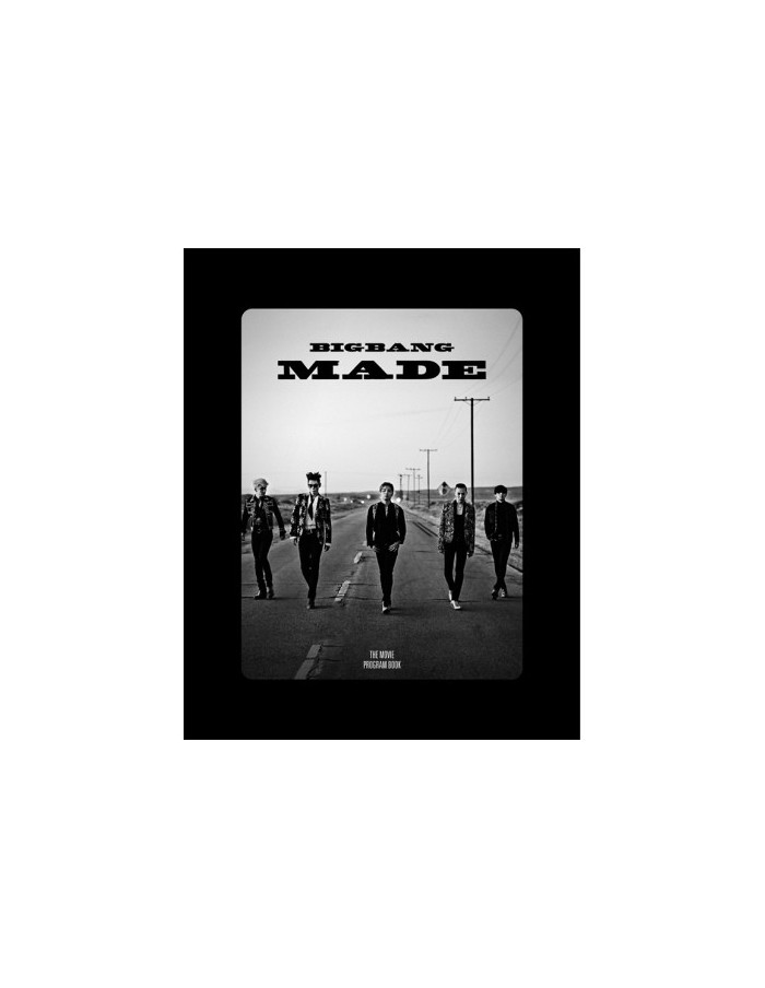 BIGBANG10 The Movie 'BIGBANG MADE' Program Book
