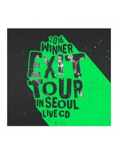 WINNER - 2016 WINNER EXIT TOUR IN SEOUL LIVE 2CDs + Poster