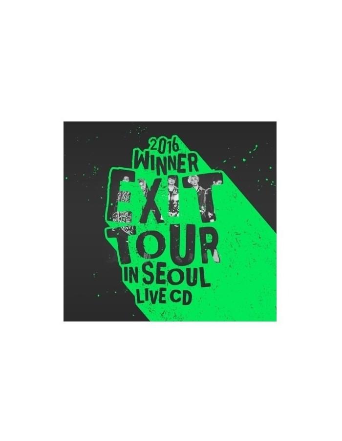 WINNER - 2016 WINNER EXIT TOUR IN SEOUL LIVE 2CDs + Poster