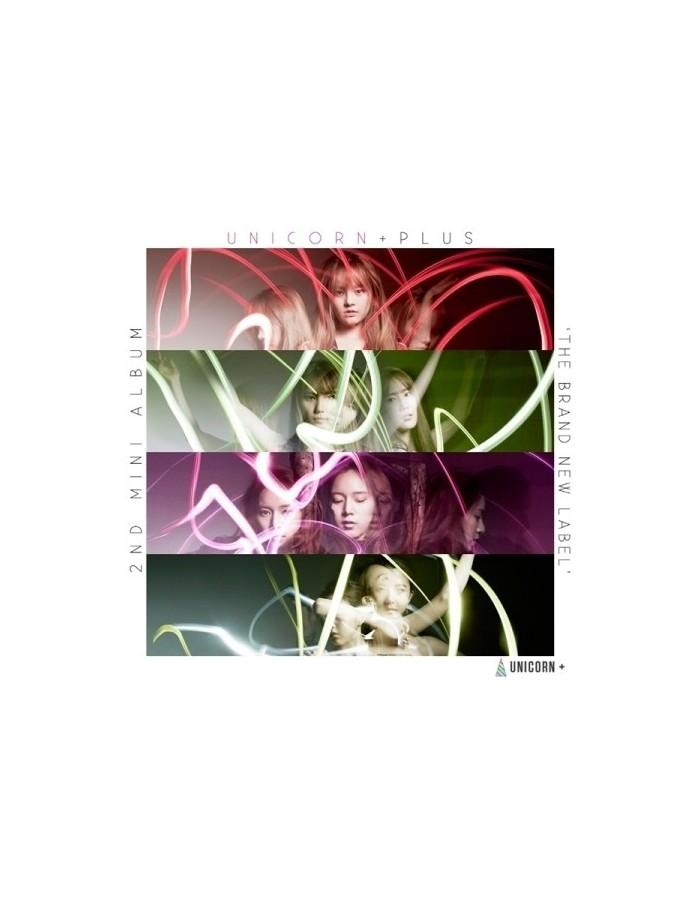 UNICORN 2nd Mini Album - UNICORN PLUS THE BRAND NEW LABEL CD + Poster