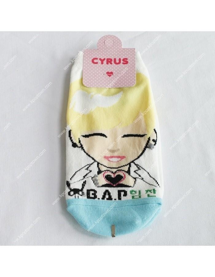 BAP B.A.P 1 Pairs of  Character Socks - HIMCHAN