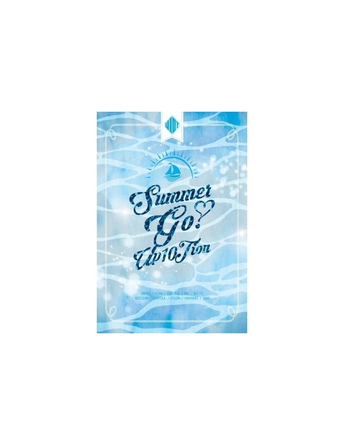 UP10TION 4th Mini Album - SUMMER GO CD + Poster
