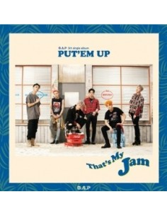 B.A.P 5th Single Album - PUT'EM UP CD + Poster