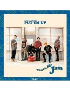 B.A.P 5th Single Album - PUT'EM UP CD + Poster