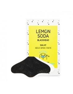 [Etude House] Lemon Soda Blackhead Dual Kit