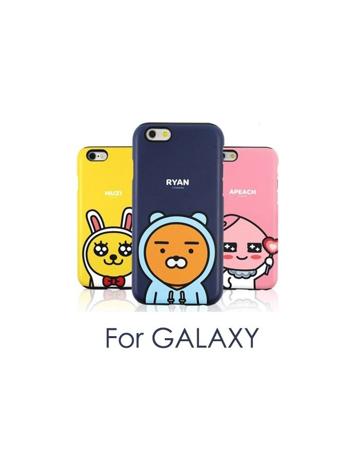 [ KAKAO FRIENDS ] KAKAO Cutty Silicone Bumper Case - For Galaxy