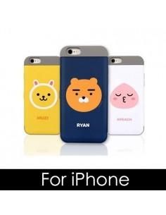 [ KAKAO FRIENDS ] KAKAO Card Double Bumper Case - For iPhone