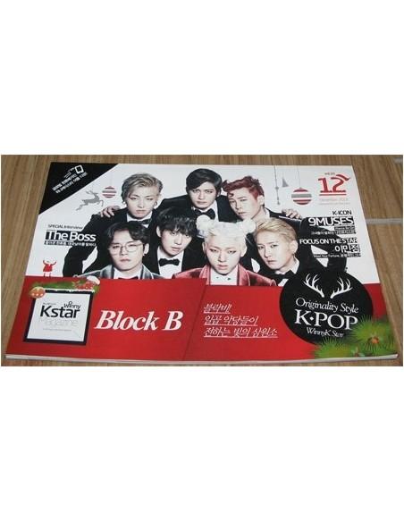 Magazine Winny kstar 2013-12 BLOCK B, The Boss