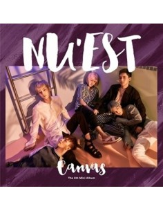 NU'EST NUEST 5th Mini Album - CANVAS CD + Poster