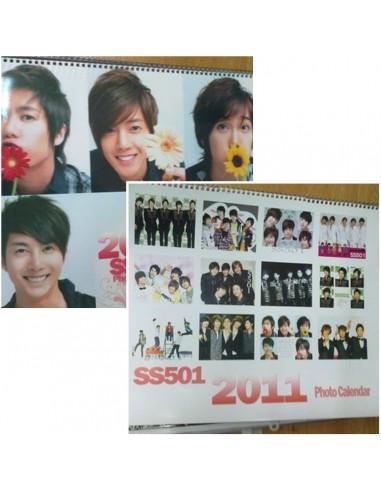 2011 BIG Wall Calendar of KIM HYUNG JOONG