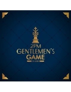 2PM 6th Album - GENTLEMEN'S GAME CD + Poster